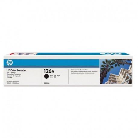 TONER HP ESTANDAR LASERJET NEGRO 1200PAG /CP1025NW -CE310A