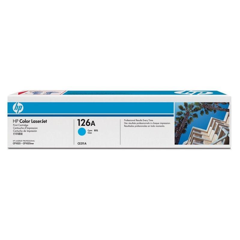 TONER HP ESTANDAR LASERJET CIAN 1000PAG /CP1025NW -CE311A