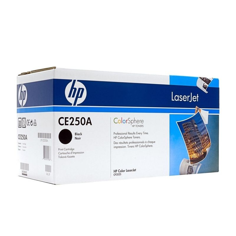 TONER HP NEGRO 5000 PAGINAS PARA HP LASERJET CM3530 / CP3520 / CP3525