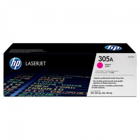TONER MAGENTA HP 305A 2600 PAGINAS PARA M351 / M375 / M451 / M475 / M375NW / M451DN / M451DW / M451NW / M475DN