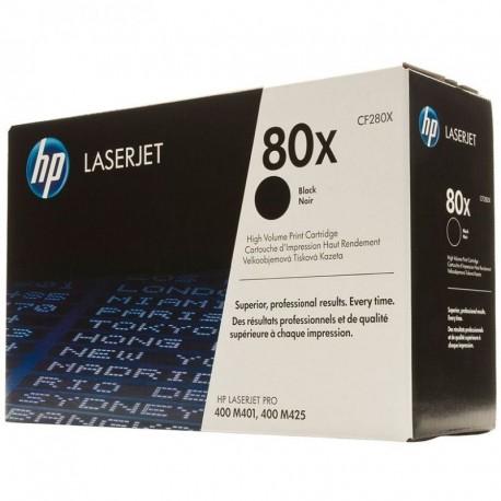 TONER HP Nº80X NEGRO ALTA CAPACIDAD 6900 PAGINAS PARA HP LASERJET PRO 400 M401 / M425
