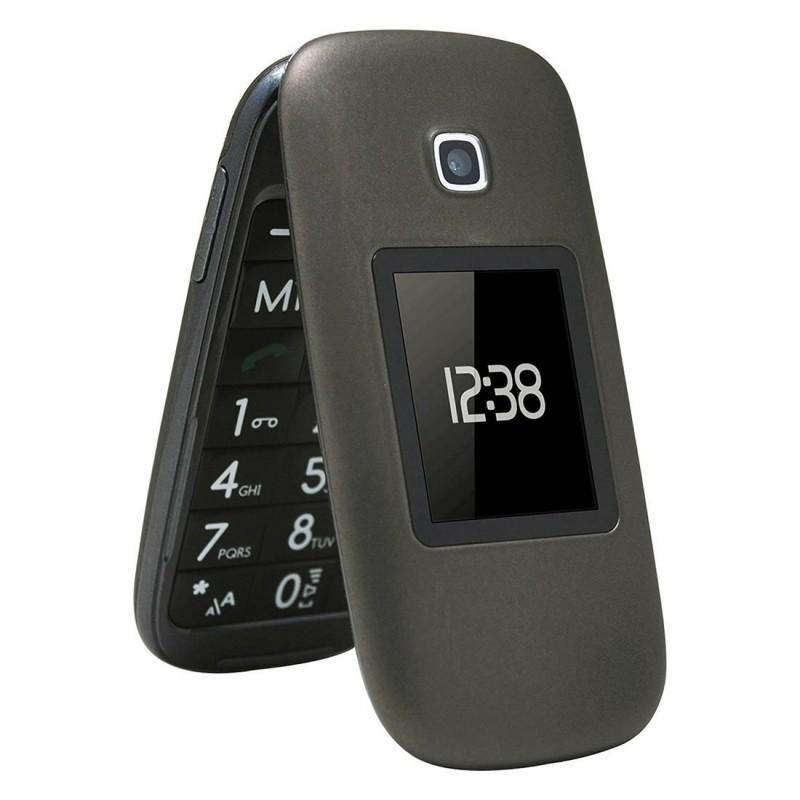 Teléfono móvil libre telefunken tm 260 cosi - pantalla 6.6cm + pantalla 4.5cm - teclas grandes - fm - bt - ranura microsd - bat