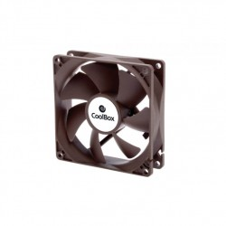 VENTILADOR CAJA COOLBOX 80MM 3-PIN 1600RPM