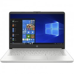 PORTÁTIL HP 14S-DQ1037NS - WIN 10S - I3-1005G1 1.2GHZ - 4GB - 256GB SSD PCIE NVME - 14'/35.6CM HD - HDMI - BT - NO ODD - PLATA N