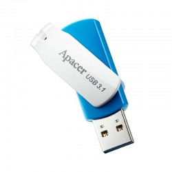 PENDRIVE APACER AH357 64GB OCEAN BLUE - USB 3.1 - COMPATIBLE WINDOWS/MAC/LINUX