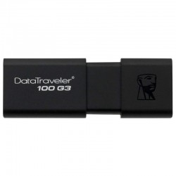 PENDRIVE KINGSTON DATATRAVELER DT100G3 128GB - USB 3.0 - LECTURA 130MB/S