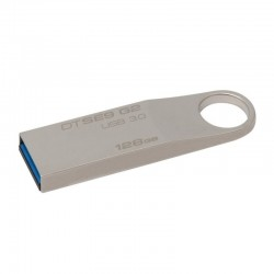PENDRIVE KINGSTON DATA TRAVELER SE9  G2 128GB USB 3.0 PLATA