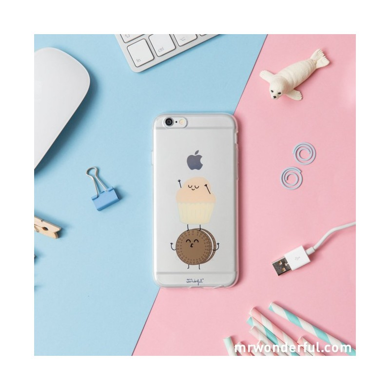 Carcasa Transparente iPhone 6 Madalena Mr Wonderful