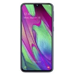 "SMARTPHONE SAMSUNG A40 BLACK 64GB 5,9"""