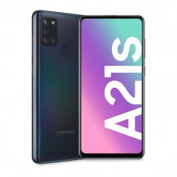 "SMARTPHONE SAMSUNG A21S NEGRO 4GB 64GB 6,5"""