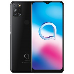 "SMARTPHONE ALCATEL 3X 2020 6,52"" HD+ 4G 16+5+2+2MP 8MP DUAL SIM 64GB 4GB BLACK"