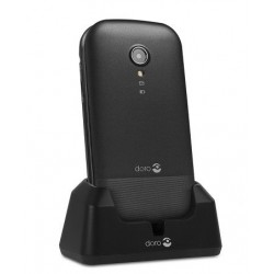 "TELEFONO MOVIL SENIOR DORO 2404 2,4"" NEGRO T0.3MPX"