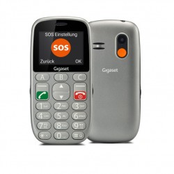 TELEFONO MOVIL GIGASET GL390 PARA MAYORES INTERFAZ SENCILLA