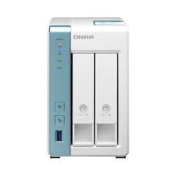 NAS QNAP TS-231K/ 2 Bahías 3.5'- 2.5'/ 1GB DDR3/ Formato Torre