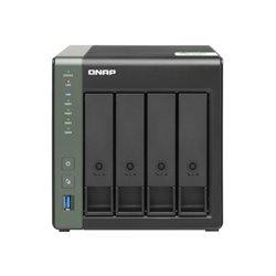 NAS QNAP TS-431KX/ 4 Bahías 3.5'- 2.5'/ 2GB DDR3/ Formato Torre