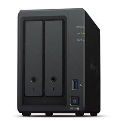 NAS Synology Diskstation DS720+/ 2 Bahías 3.5'- 2.5'/ 2GB DDR4/ Formato Torre