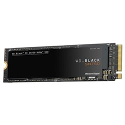 Disco SSD Western Digital WD Black SN750 500GB/ M.2 2280 PCIe