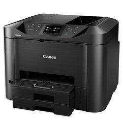 Multifunción Canon MAXIFY MB5450 Wifi/ Fax/ Dúplex/ Negra