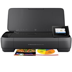 Multifunción Portátil HP Officejet 250 Mobile AIO Wifi/ Negra