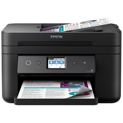 Multifunción Epson Workforce WF-2860DWF Wifi/ Fax/ Dúplex/ Negra