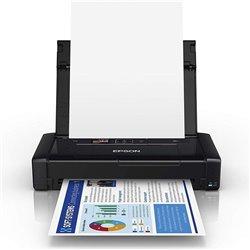 Impresora Portátil Epson Workforce WF-110W Wifi/ Negra