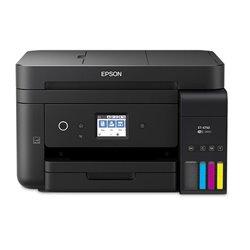 Multifunción Recargable Color Epson Ecotank ET-4750 Wifi/ Fax/ Dúplex/ Negra