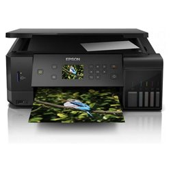 Multifunción Recargable Color Epson Ecotank ET-7700 Wifi/ Negra