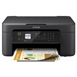 Multifunción Epson Workforce WF-2810DWF Wifi/ Fax/ Dúplex/ Negra