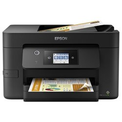 Multifunción Epson Workforce Pro WF-3820DWF Wifi/ Fax/ Dúplex/ Negra
