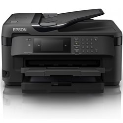 Multifunción A3+ Epson Workforce WF-7710DWF Wifi/ Fax/ Dúplex/ Negra