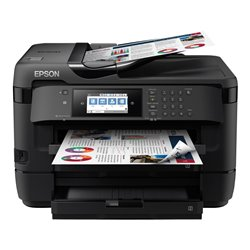 Multifunción A3+ Epson Workforce WF-7720DTWF Wifi/ Fax/ Dúplex/ Negra