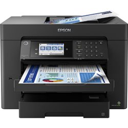 Multifunción A3+ Epson Workforce WF-7840DTWF Wifi/ Fax/ Dúplex/ Negra
