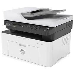 Multifunción Láser Monocromo HP 137FNW Wifi/ Fax/ Blanca
