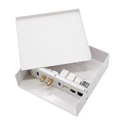 Caja De Conexiones Nanocable 10.35.0003/ VGA - HDMI - JACK3.5 - RCA - USB3.0 - USB2.0 - 2XRJ45