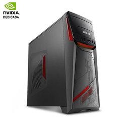 PC GAMING ASUS ROG G11CD-K-SP009T - I5 7400 3.0GHZ - 8GB - 1TB - NVIDIA GF GTX1060 3GB - DVD+-RW - HDMI - W10