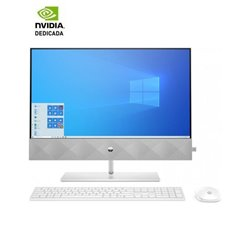 PC ALL IN ONE HP PAVILION 24-K0004NS - I5-10400T 2GHZ - 8GB - 512GB SSD PCIE NVME - GEFORCE MX350 2GB - 23.8'/60.45CM FHD - WIFI
