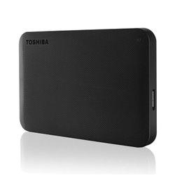 DISCO DURO EXTERNO TOSHIBA CANVIO READY NEGRO - 2.5'/6.35CM - 1TB - USB 3.0 - MAX TRANSFERENCIA 5GBPS - ALIMENTACION USB