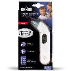 Termómetro Digital Braun ThermoScan 3