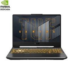 Portátil Gaming Asus TUF FA506QM-HN016 Ryzen 7 5800H/ 16GB/ 512GB SSD/ GeForce RTX3060/ 15.6'/ FreeDOS