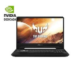 Portátil Gaming Asus TUF Gaming FX505DT-HN450 Ryzen 5 3550H/ 8GB/ 512GB SSD/ GeForce GTX1650/ 15.6'/ FreeDOS