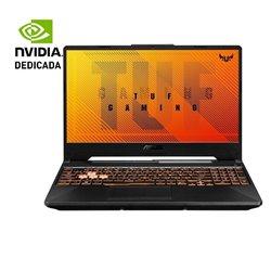 Portátil Gaming Asus TUF FX506LU-HN106 Intel Core i7-10870H/ 16GB/ 1TB SSD/ GeForce GTX1660Ti/ 15.6'/ FreeDOS