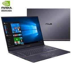 Portátil Asus Proart Studiobook Pro 17 W700G3T-AV093R Intel Core i7-9750H/ 32GB/ 1TB SSD/ Nvidia QuadroRTX3000/ 17.3'/ Win10 Pro