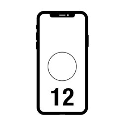 Smartphone Apple iPhone 12 64GB/ 6.1'/ 5G/ Blanco