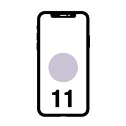 Smartphone Apple iPhone 11 64GB/ 6.1'/ Malva