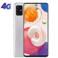 Smartphone Samsung Galaxy A51 4GB/ 128GB/ 6.5'/ Plata Metálico
