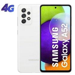 Smartphone Samsung Galaxy A52 6GB/ 128GB/ 6.5'/ Blanco
