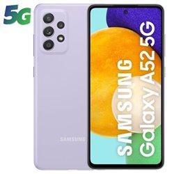 Smartphone Samsung Galaxy A52 6GB/ 128GB/ 6.5'/ 5G/ Violeta