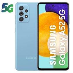Smartphone Samsung Galaxy A52 8GB/ 256GB/ 6.5'/ 5G/ Azul