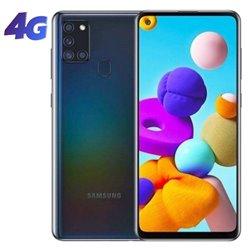 Smartphone Samsung Galaxy A21S 4GB/ 64GB/ 6.5'/ Negro