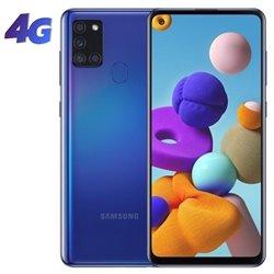 Smartphone Samsung Galaxy A21S 4GB/ 64GB/ 6.5'/ Azul